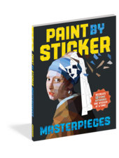 Workman Publishing Paint by Sticker: Masterpieces