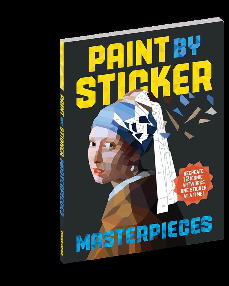 Workman Publishing Workman Paint by Sticker: Masterpieces