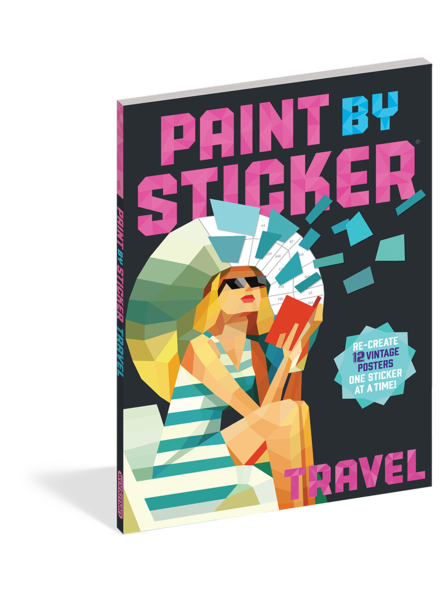 Workman Publishing Paint by Sticker: Travel