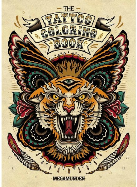 Chronicle Books The Tattoo Coloring Book