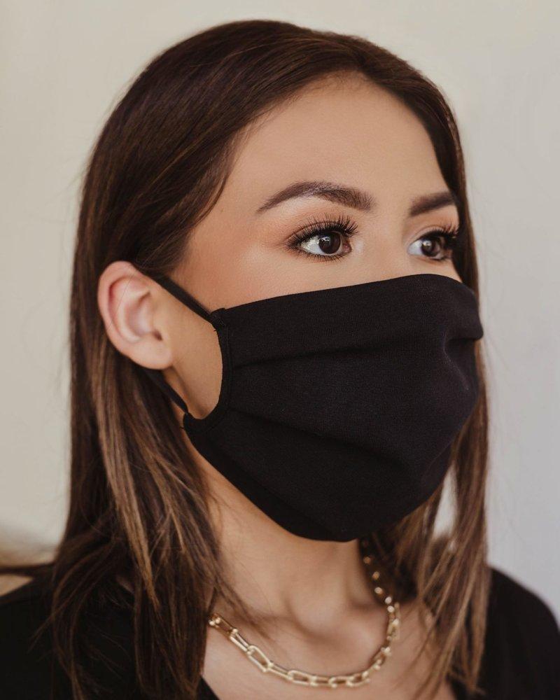 Veronica M Veronica M Adult Black Face Mask Black