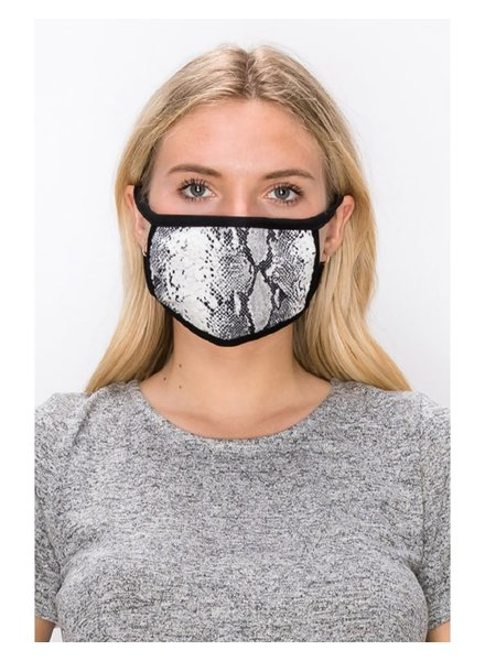 Coin1804 Adult Python Face Mask