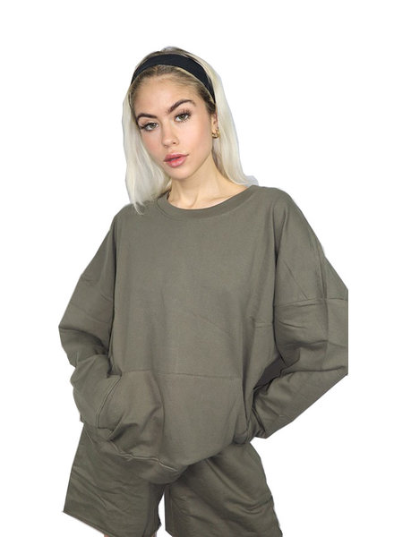 RD Style 'Set It Off' Hi-Low Pullover