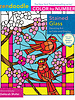 Macmillan Publishing Macmillan Zendoodle Color-by-Number: Stained Glass Coloring Book