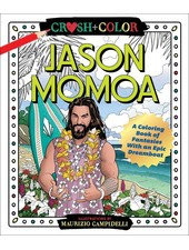 Macmillan Publishing Crush & Color: Jason Mamoa Coloring Book