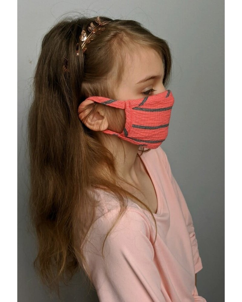 Coin1804 Coin1804 Kids Bright Stripe Face Mask