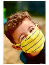 Coin1804 Kids Bright Stripe Face Mask (More Colors)