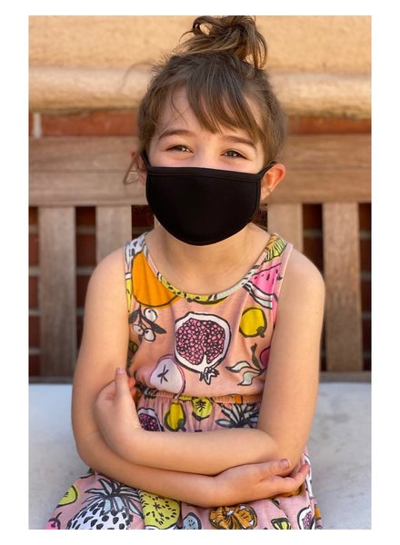 Coin1804 Kids Black Face Mask