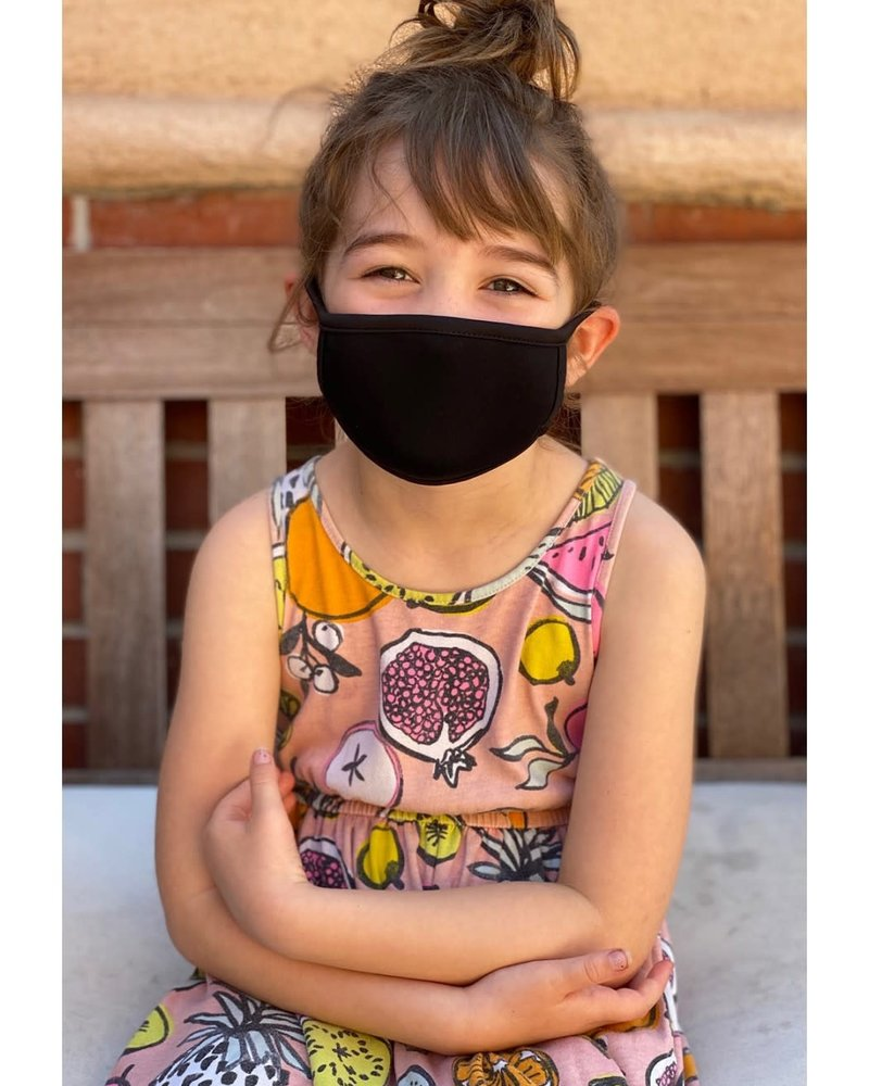 Coin1804 Coin1804 Kids Black Face Mask