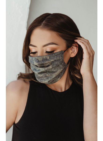 Veronica M Adult Military Camo Face Mask