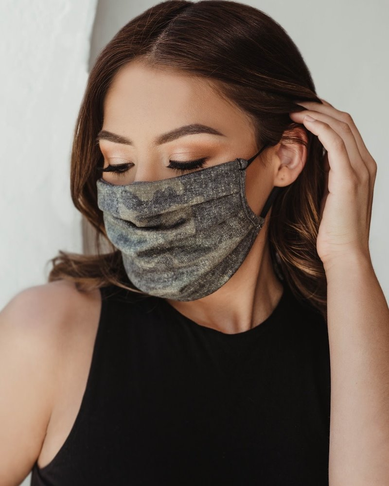 Veronica M Veronica M Adult Military Camo Face Mask