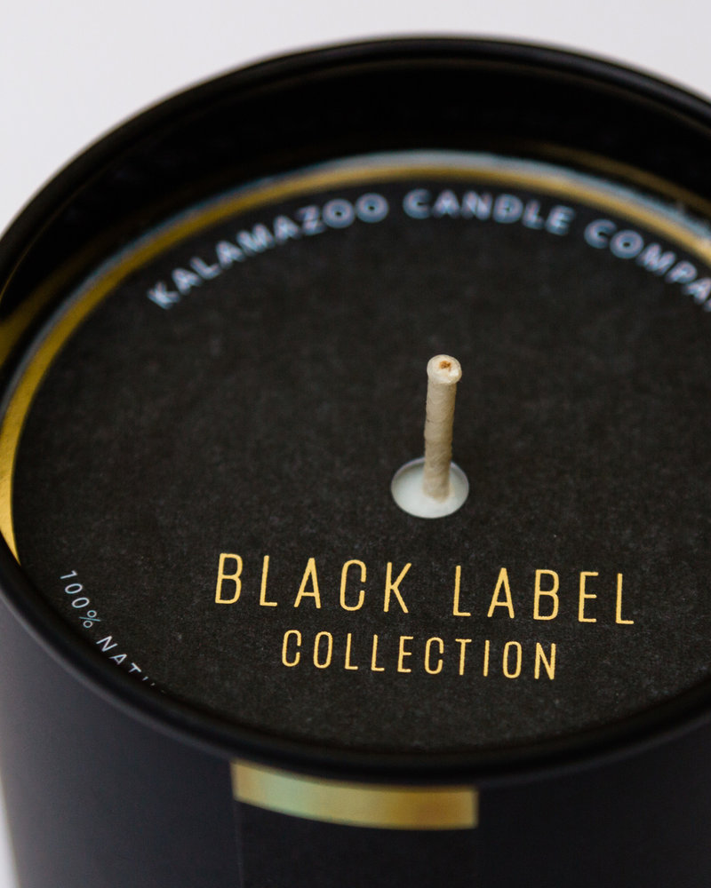 Kalamazoo Candle Co. Kalamazoo Black Label Collection Candle No 24