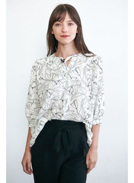Week& 'Throw A Print On It' Top (Small)