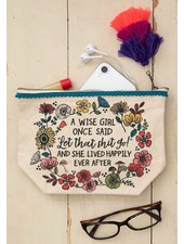 Natural Life 'Wise Girl' Canvas Pouch
