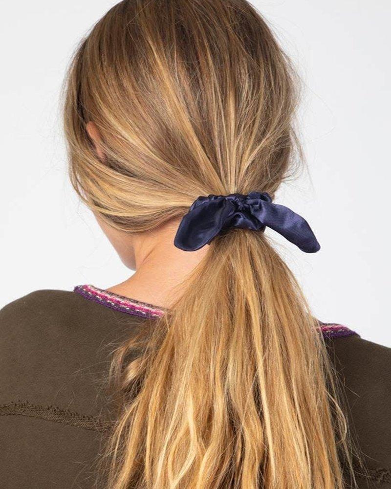 Natural Life Natural Life Navy Bow Scrunchies (Set of 3)
