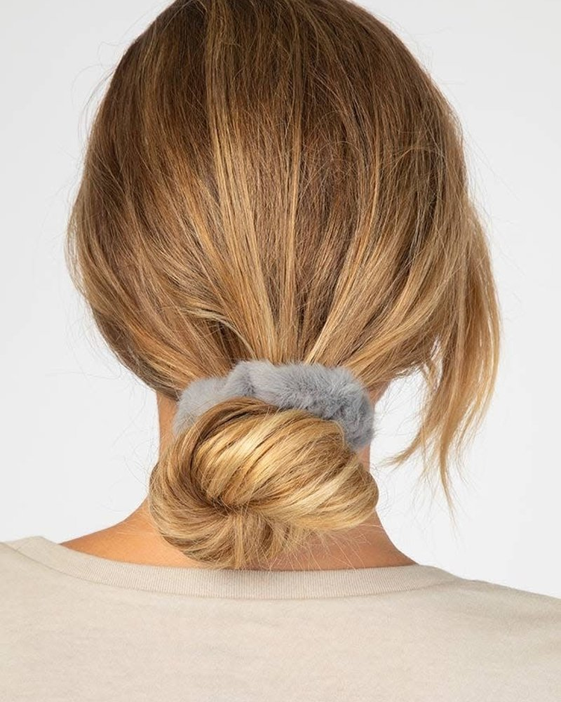 Natural Life Natural Life Fuzzy Scrunchies (Set of 3)