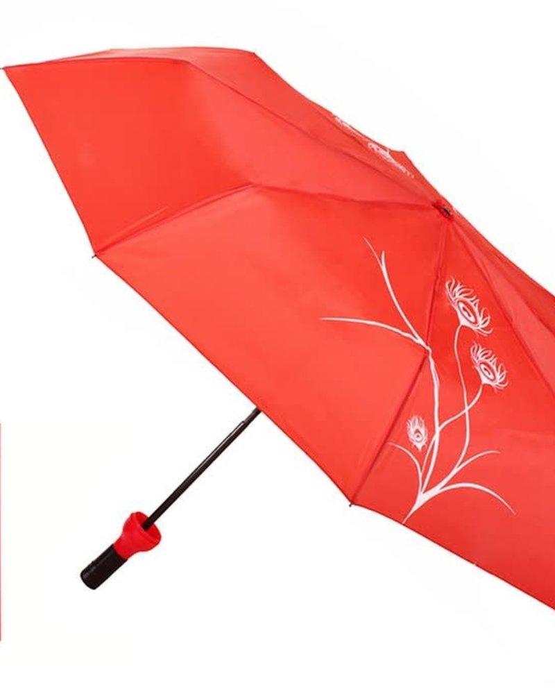 Vinrella Vinrella Peacock Red Wine Bottle Umbrella