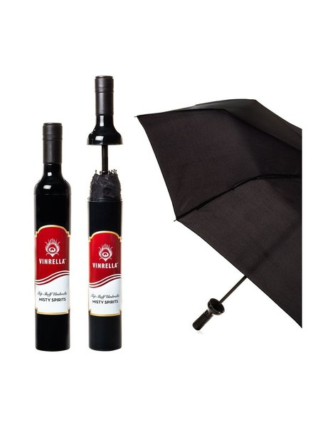 Vinrella Misty Spirits Wine Bottle Umbrella