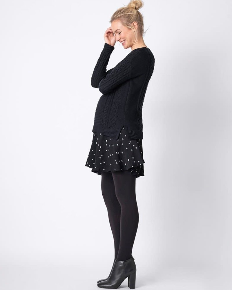 Seraphine Maternity Seraphine Maternity 'Tiffany' 2-in-1 Cable Knit Nursing Tunic **FINAL SALE**