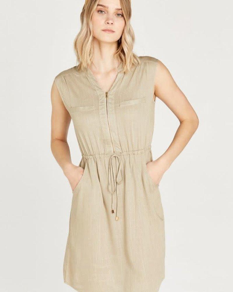 Apricot Apricot 'Toggle On My Zipper' Dress