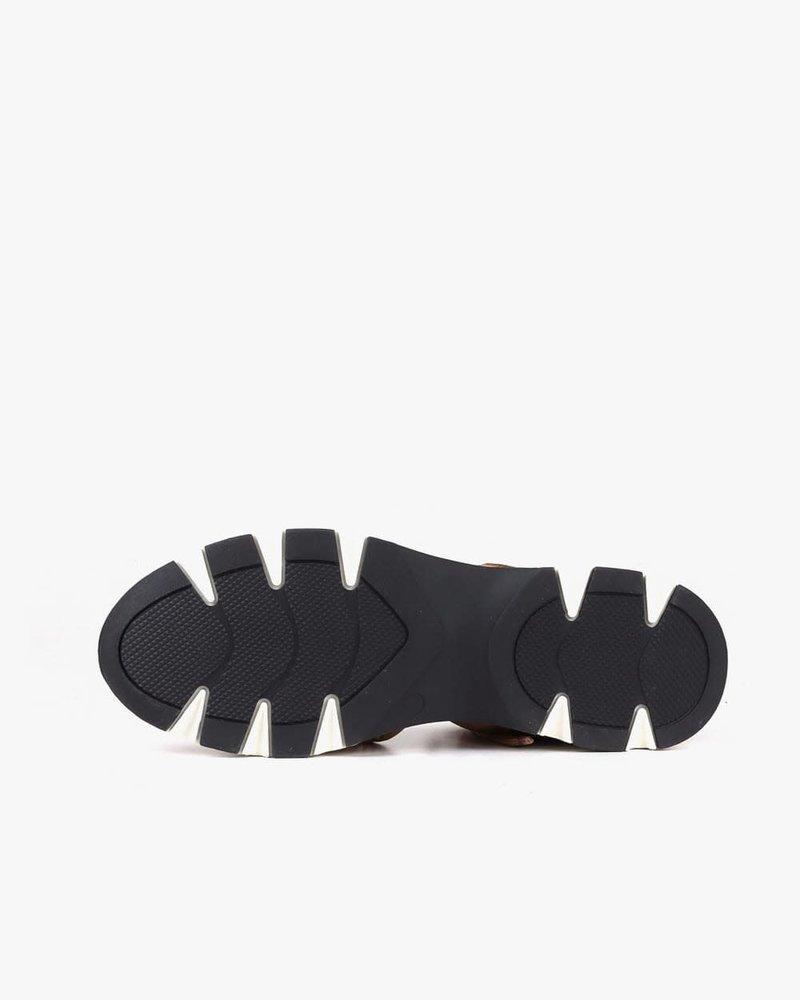 All Black All Black 'Amazing Jungle' Fur Sneaker