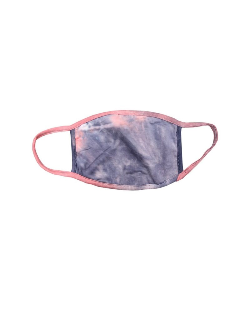 Coin1804 Coin1804 Adult Tie Dye Coral/Slate Face Mask