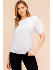 Gilli 'Add Some Puff To My Sleeves' Top