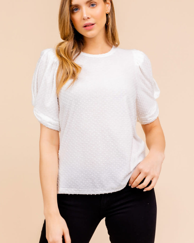 Gilli Gilli 'Add Some Puff To My Sleeves' Top