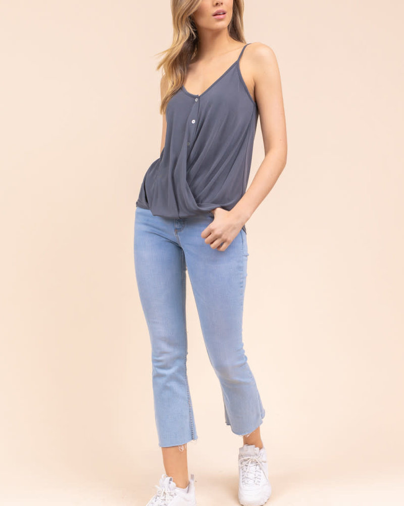 Gilli Gilli Charcoal 'Put Some Spice In Your Life' Cami