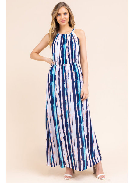 Gilli 'Halter There' Maxi Dress (Large) **FINAL SALE**