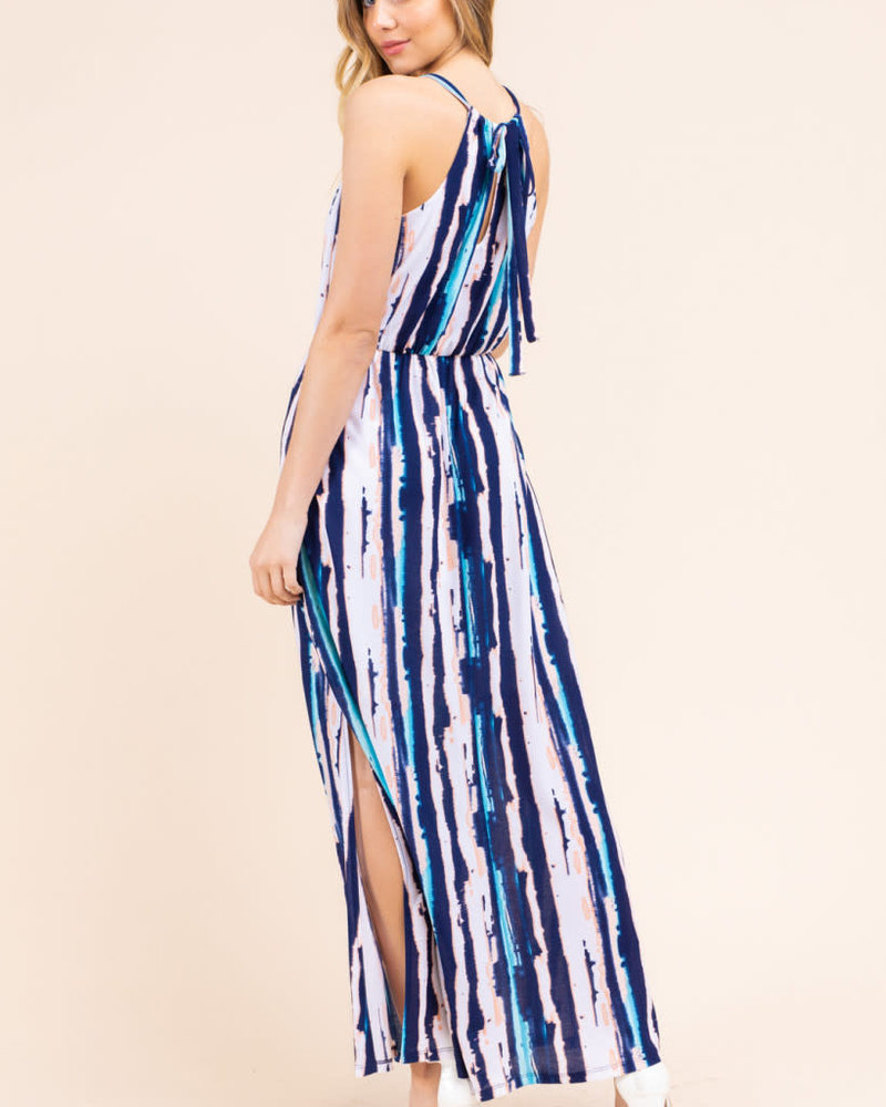 Gilli Gilli 'Halter There' Maxi Dress