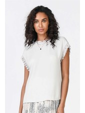 Current Air 'Taupe To The Hand' Top