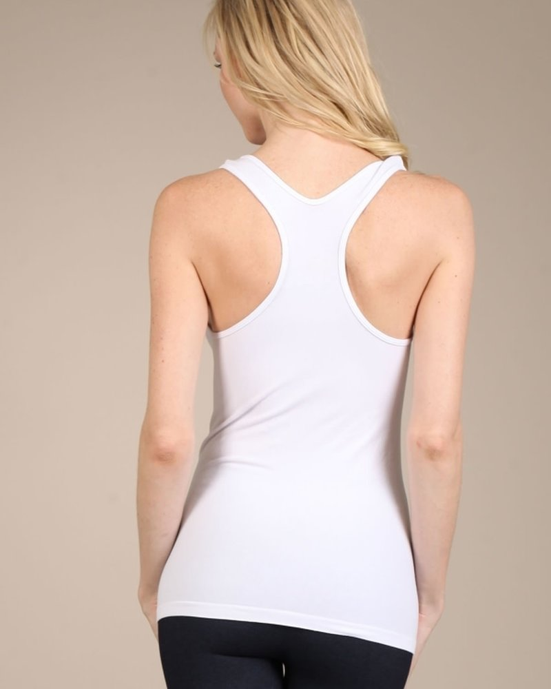 M. Rena M. Rena Scoop Neck Racer Back Tank