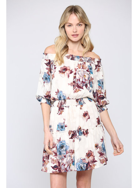 Fate by LFD 'Through the Fire' Off Shoulder Dress (Small) **FINAL SALE**