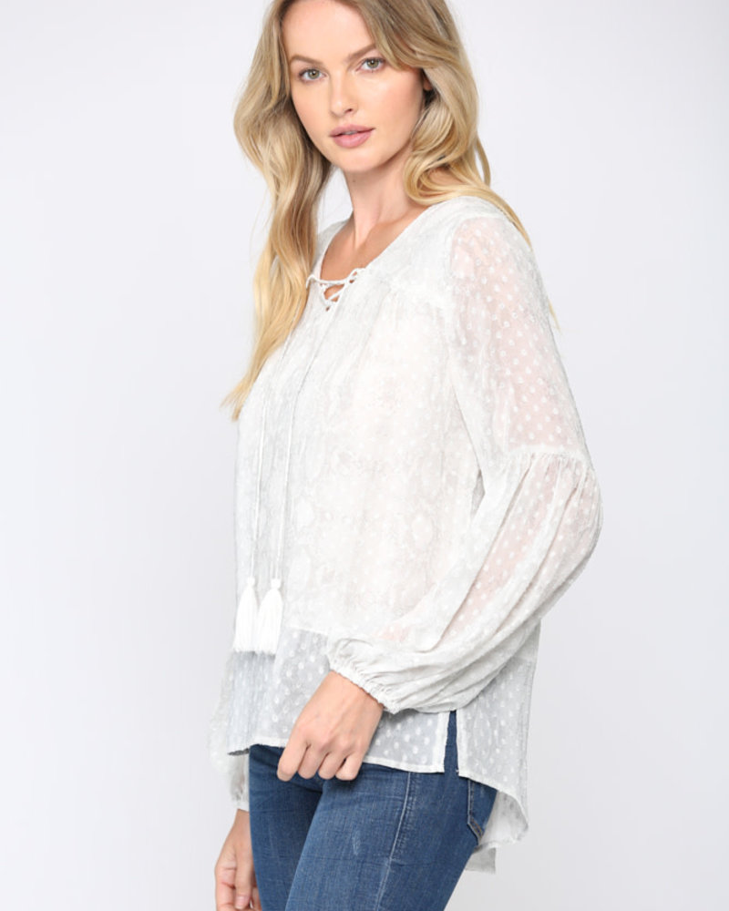 Fate by LFD Fate 'Peasant To Meet You' Top **FINAL SALE**