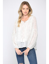 Fate by LFD 'Peasant To Meet You' Top (Small) **FINAL SALE**