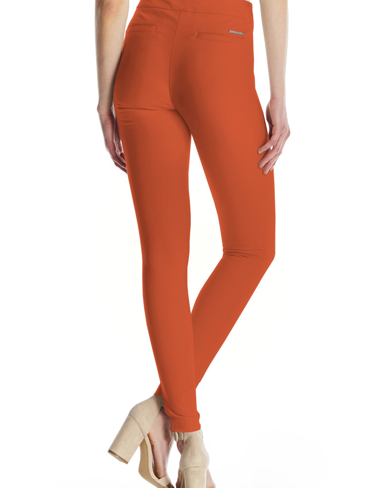 I Love Tyler Madison I Love Tyler Madison Burnt Orange 'Mara Twill' Pant