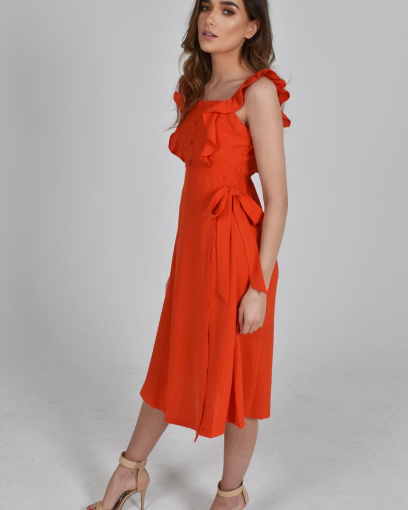Baloot Baloot 'Donna' Ruffle Dress **FINAL SALE**