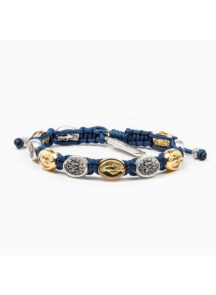 My Saint My Hero Miraculous Mary Blessing Bracelet in Mixed Metal (More Colors)