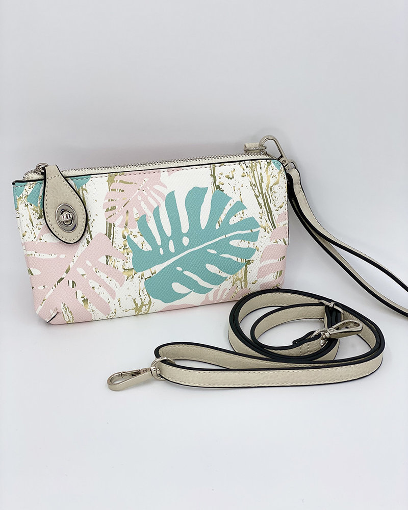 White Palm 'Snapper' Convertible Crossbody