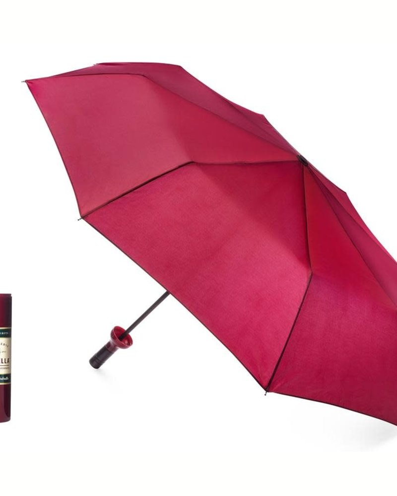 Vinrella Vinrella Burgundy Labeled Wine Bottle Umbrella