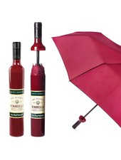 Vinrella Burgundy Labeled Wine Bottle Umbrella