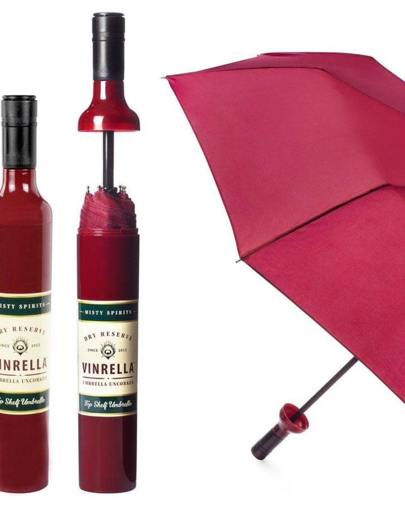 Vinrella Vinrella Burgundy Labeled Wine Bottle Umbrella