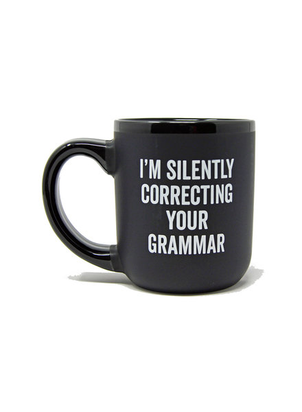 Snark City 'I'm Silently Correcting Your Grammar' Oversized Mug