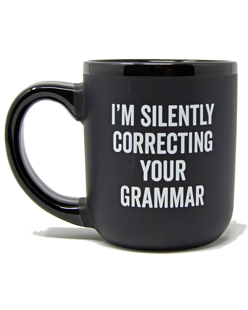 Snark City Snark City 'I'm Silently Correcting Your Grammar' Oversized Mug