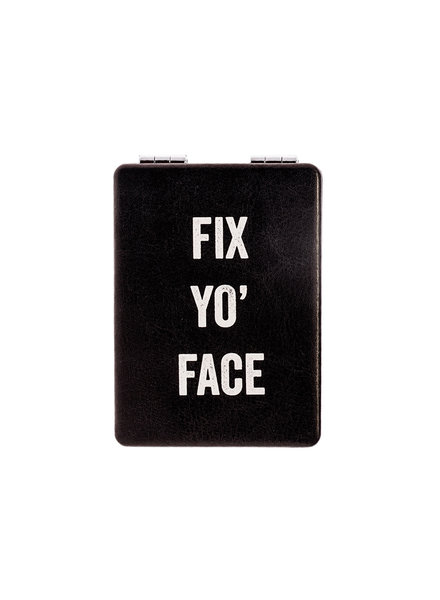 Snark City 'Fix Yo' Face' Compact Mirror
