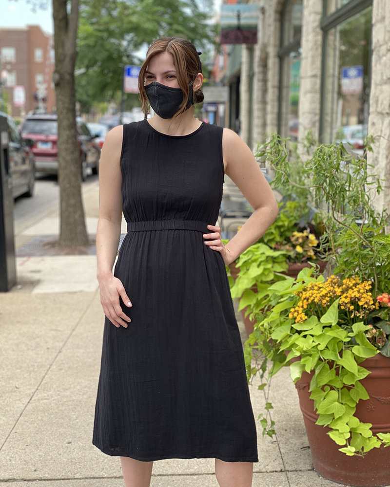 RD Style RD Style Black 'Just The Back' Dress