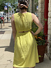 RD Style RD Style Yellow 'Just The Back' Dress **FINAL SALE**