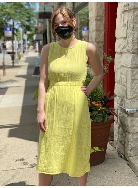 RD Style Yellow 'Just The Back' Dress (Large) **FINAL SALE**