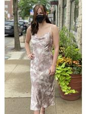 Gilli 'Something To Slip Into' Cowl Neck Slip Dress